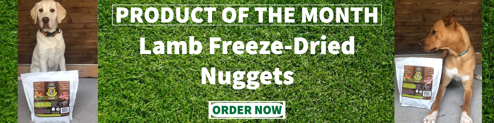 Barfworld Product of the Month July 2020 Lamb Freeze Dried Nuggets